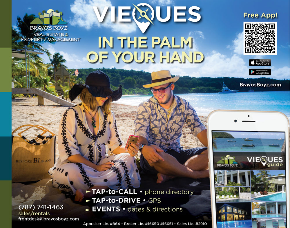 Vieques in the palm of your hand
