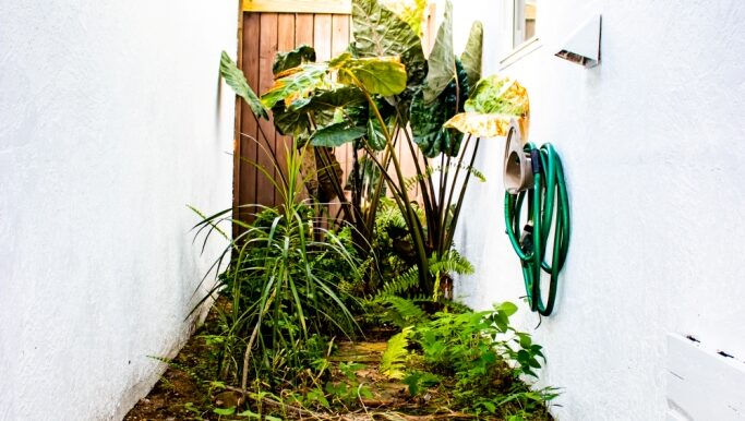 Master Outdoor Shower Planter a