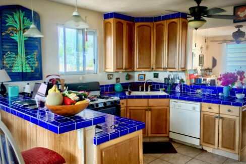 VDM Kitchen showing dining room